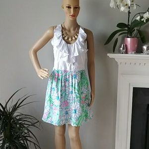 Lilly Pulitzer summer floral dress